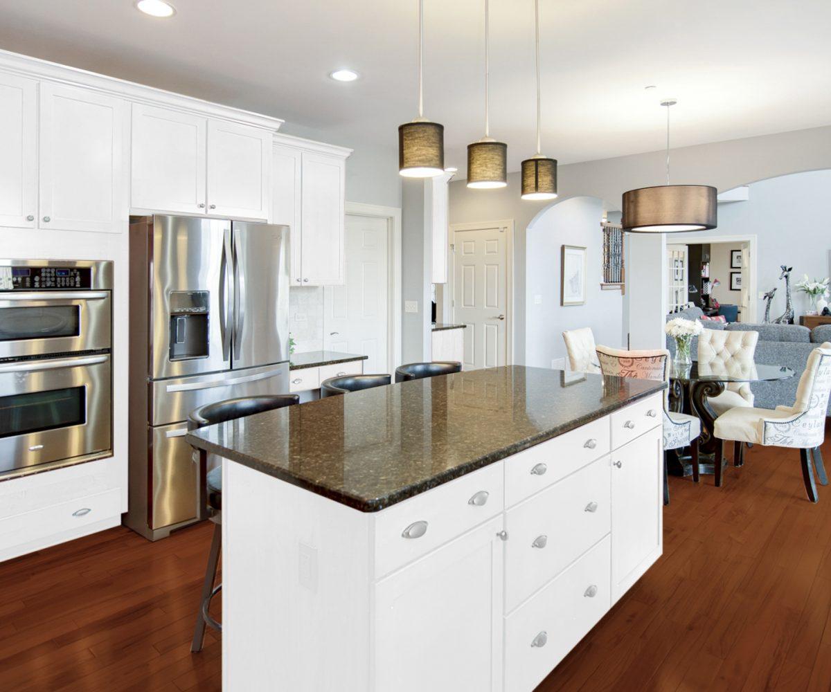 7227 Lenox Court Long Grove IL Kitchen Cabinet Upgrade
