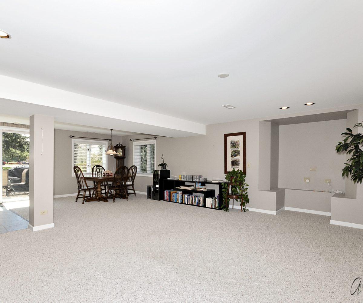 David Harney Real Estate 642 Edelweiss Antioch IL Basement