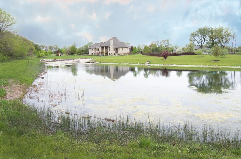 2641 Sanctuary Long Grove IL David Harney Real Estate Pond2