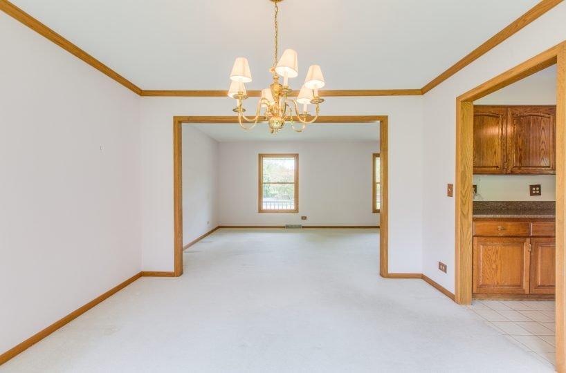 4907 Lake Dawnwood David Harney Real Estate Johnsburg IL Dining Room