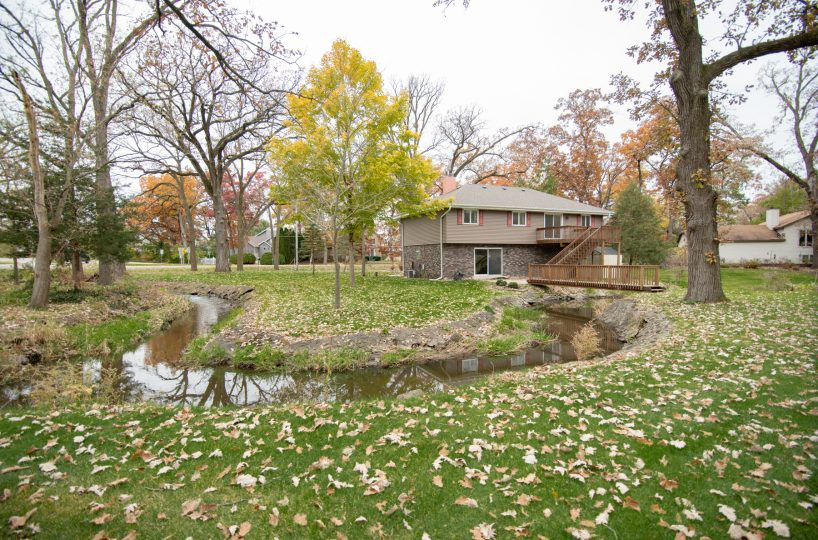 3158 Lakeshore Dr Twin Lakes WI Creek 3 David Harney Real Estate