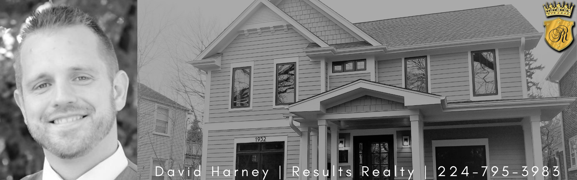 David Harney Realtor Results Realty Banner Picture